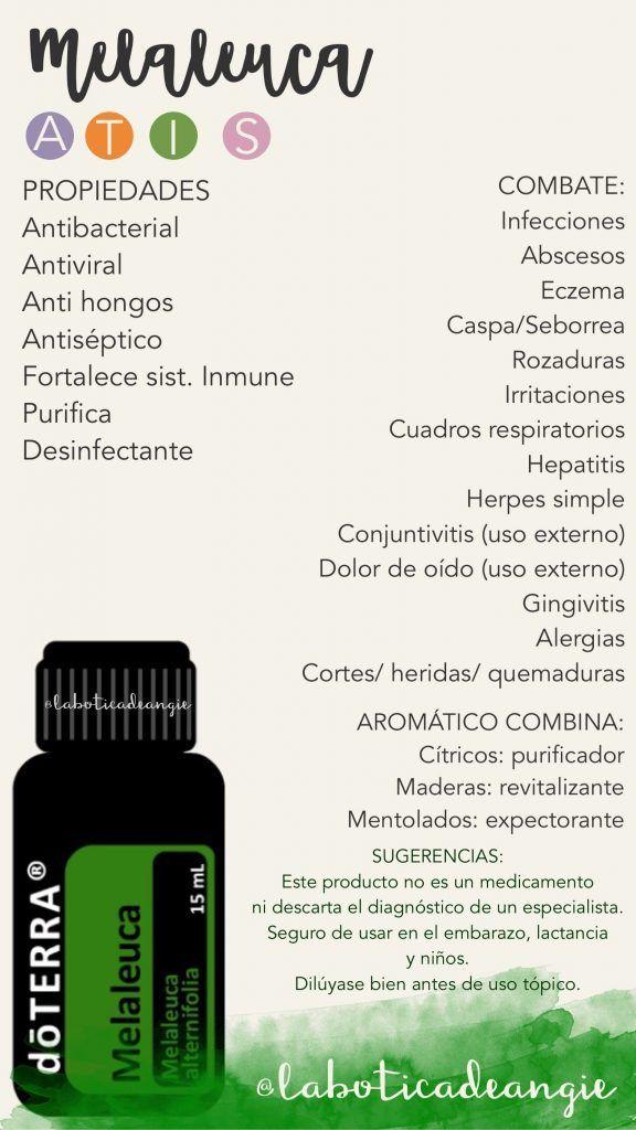 Aceite esencial arbol de te propiedades